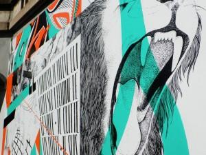 J'EMBRASSE LE FLEUVE – fresque
