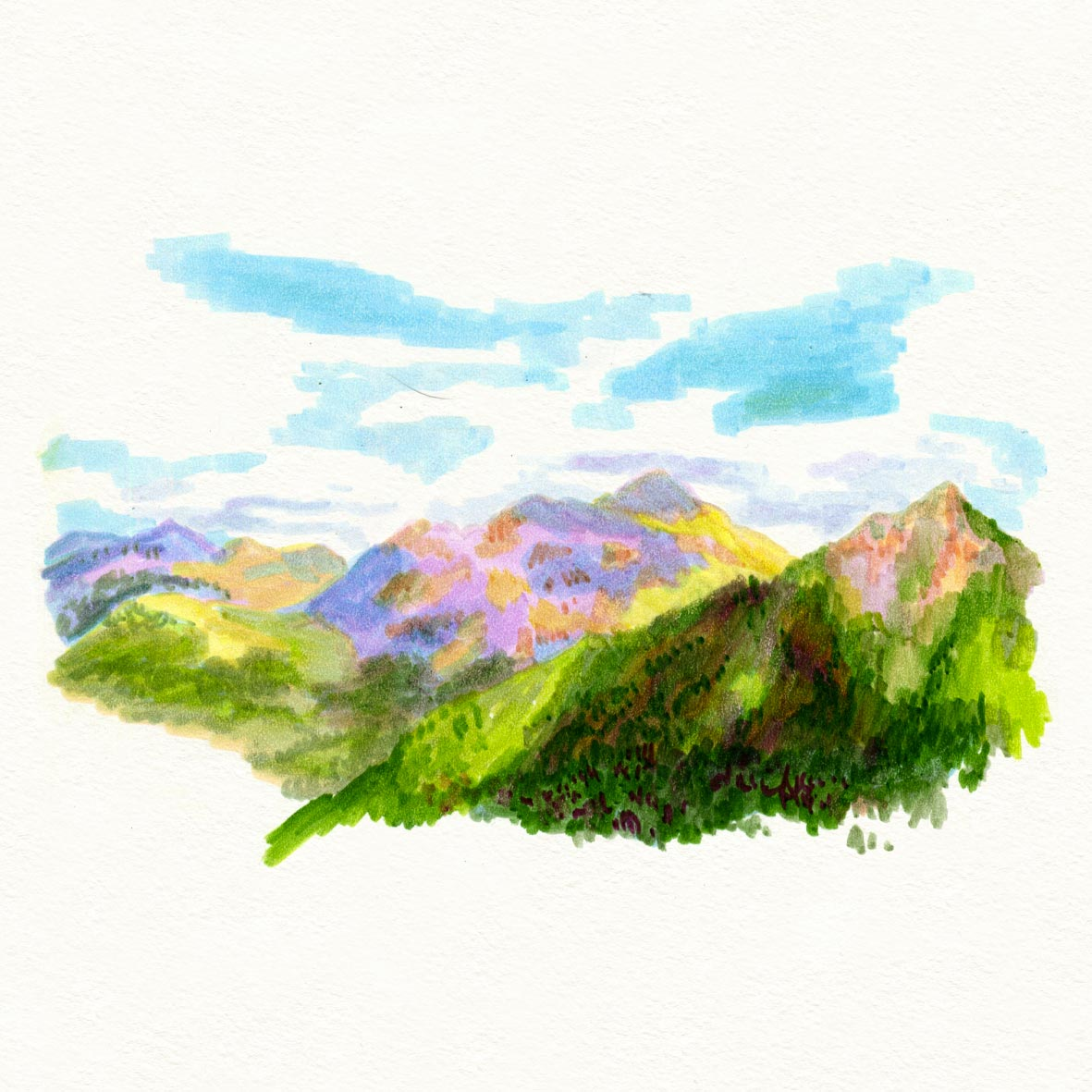 croquis_summer_sketche_feutre_montagne_01