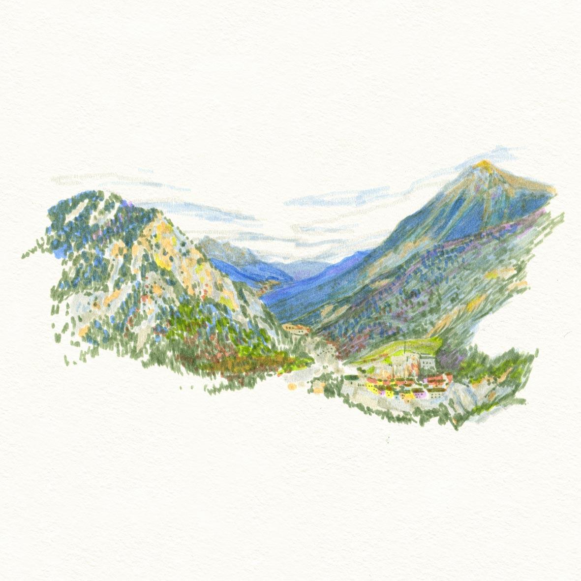 croquis_summer_sketche_feutre_montagne_04