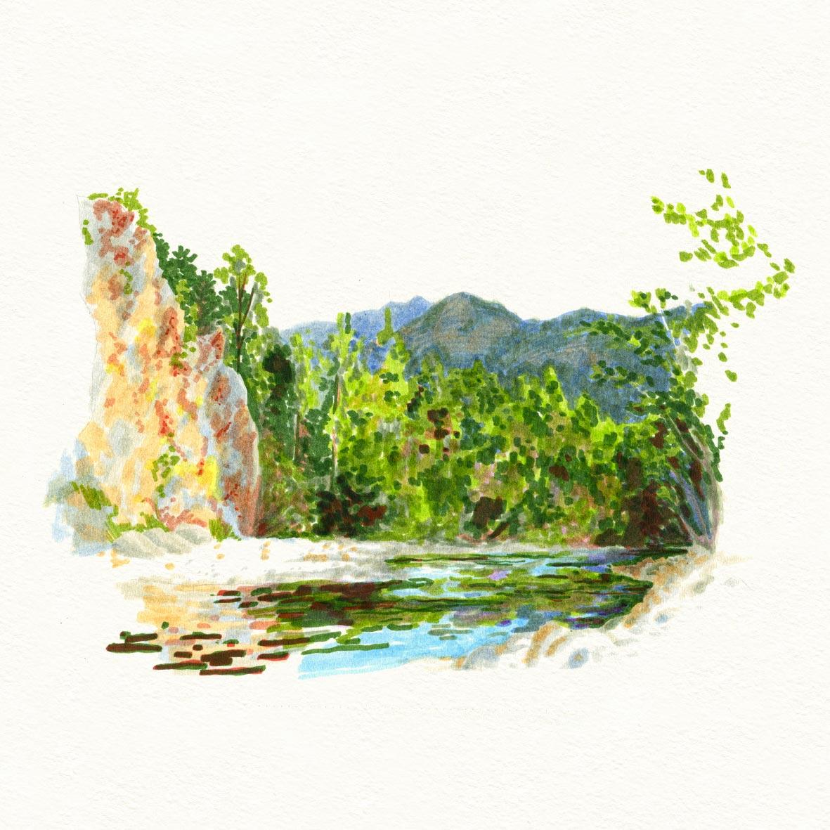 croquis_summer_sketche_feutre_montagne_05